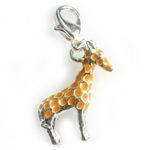 Silver Giraffe charm