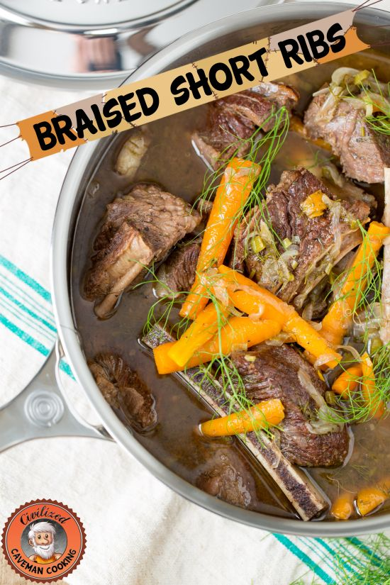 GF/Paleo Braised Short Ribs | Civilized Caveman Cooking Creations