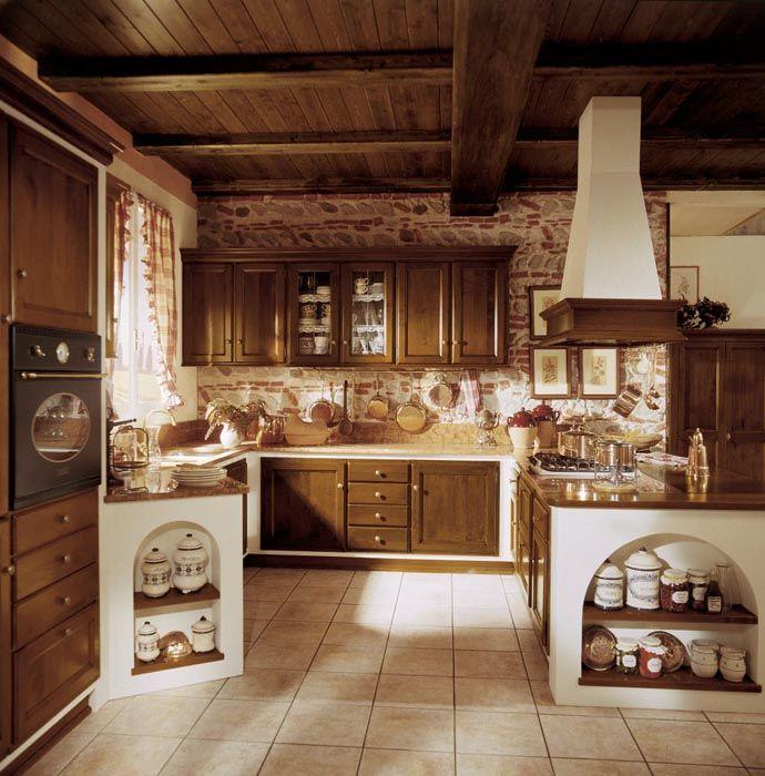 Cucina in muratura Amelia  Esposizione Artigiani Medesi ...