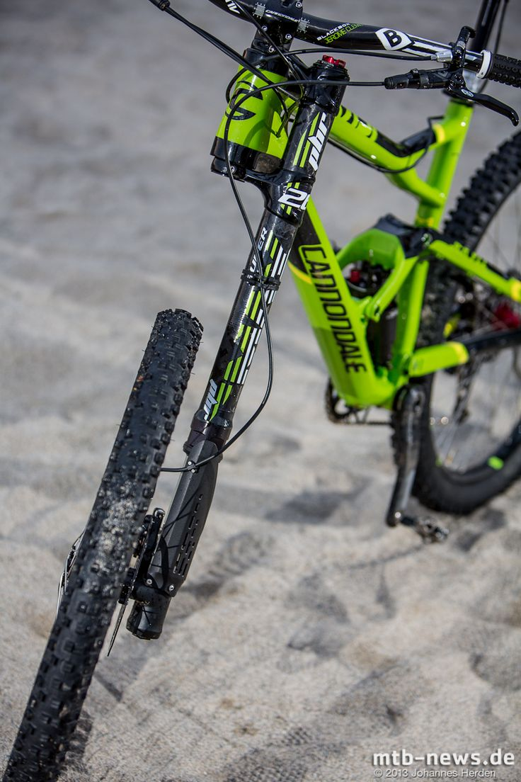 Cannondale Jekyll with Prototype Lefty featuring 160mm of travel!
