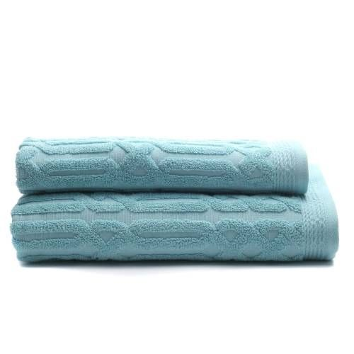 Mercer + Reid Pima Textured - Bathroom Towels - Adairs online
