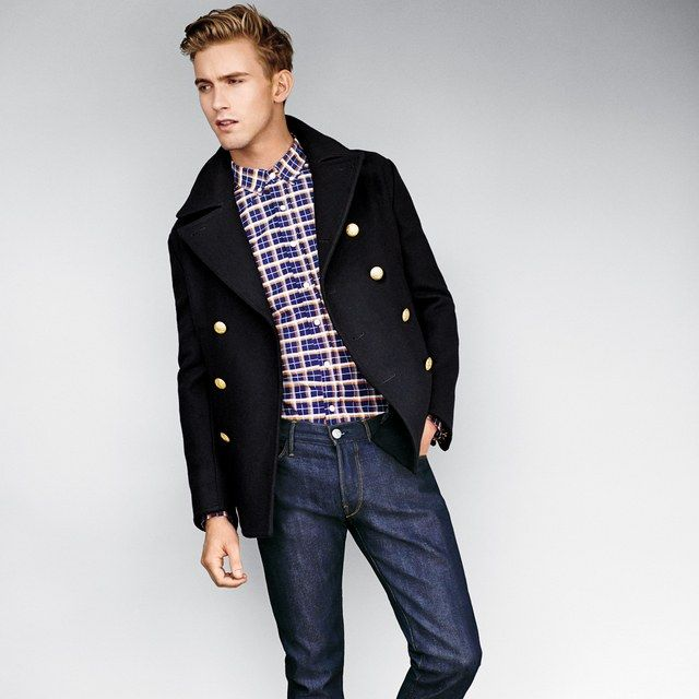 The One Way to Make Your Fall Peacoat Stand Out from the Pack | GQ