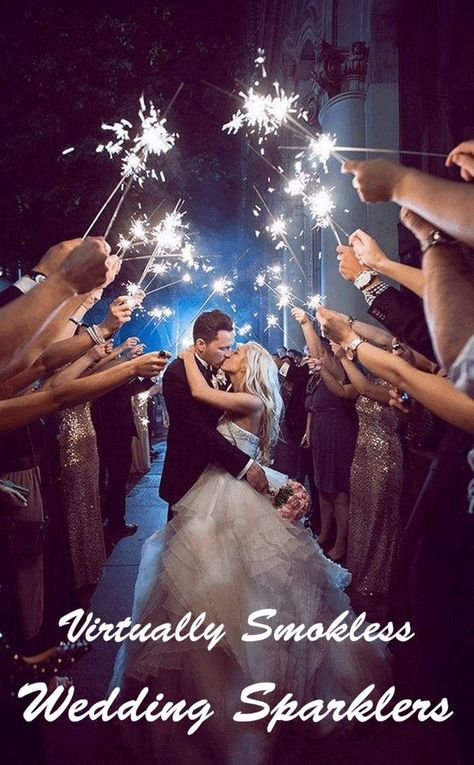 Wedding ceremony Sparklers
