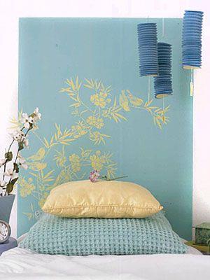 46 best diy bedroom images on pinterest bedroom ideas diy 6 do it yourself headboard projects solutioingenieria Image collections