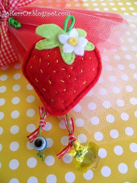 SofterrOr - Χειροποίητες Κατασκευές: Φράουλες