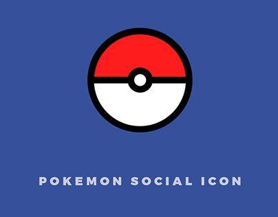 """Check out new work: """"Pokémon Social Icon"""" http://be.net/gallery/40895101/Pokmon-Social-Icon #pokemongo #pokemonicon #pokemon"""