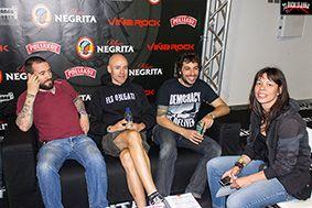 Entrevista con Habeas Corpus en Viña Rock