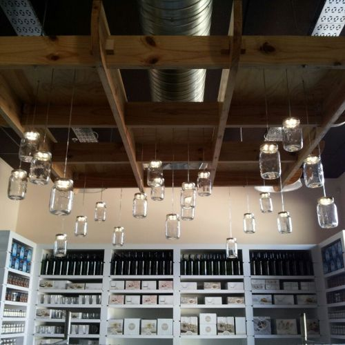 Retail Store Lighting with Consol Solar Jars
