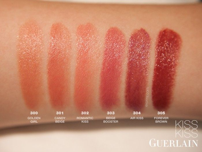 Urban decay revolution lipsticks review photos and swatches - Guerlain Kiss Kiss Lipstick Air Kiss Beauty Makeup