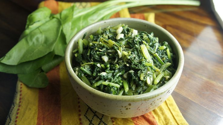 Quick & Easy Sesame Spinach | { Food } | Pinterest