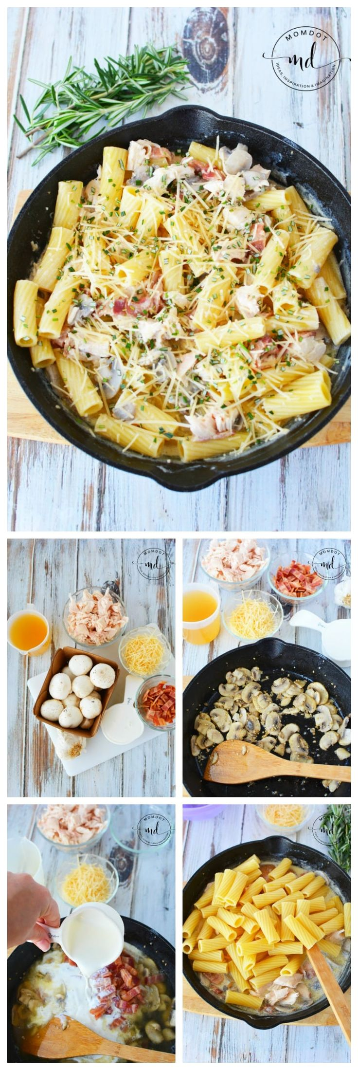 Leftover Turkey Pasta is a great Turkey Leftover Dish to use what you have from Thanksgiving. Do not let that delicous turkey go to waste and it wont with this amazing dinner recipe #thanksgiving #recipe #dinner #turkey