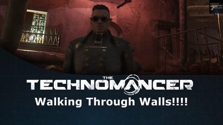 The Technomancer Walking Through Walls Glitch!!!!
