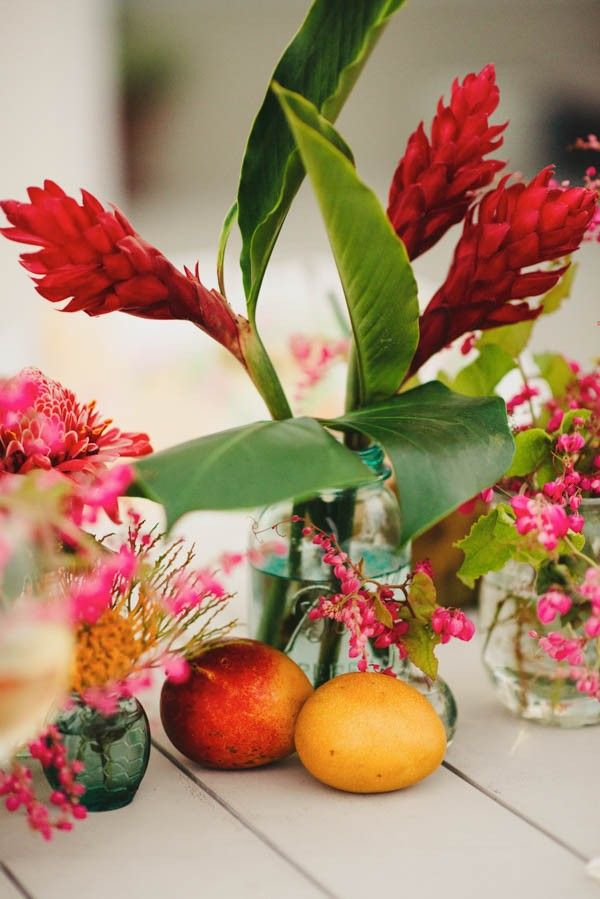 Tropical flowers & fruit | June Photography