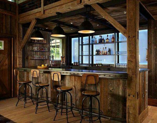 1000 ideas about country bar on pinterest western decor for Country basement ideas