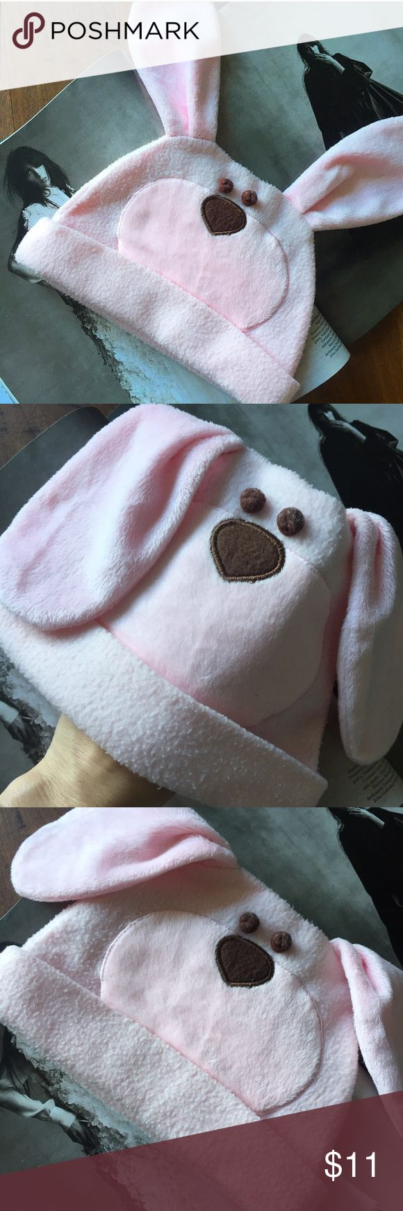 BUNNY HAT pink girls baby Good condition. Soft and soooo cute! Chanel Dior Zara Fendi Kenzo Prada Hermes Michael Kors Valentino Lacoste Louis Vuitton Balenciaga Alexander Wang Kate Spade Hugo Boss Burberry Prada Gucci Runway Fashion show.  Free people. Premuim Signature collection. Bundle with other items to get 15% off. Accessories Hats