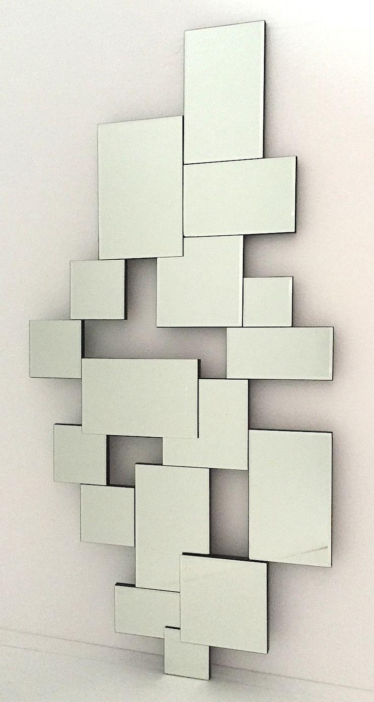 Las 25 mejores ideas sobre espejos modernos en pinterest for Espejos cuadrados grandes