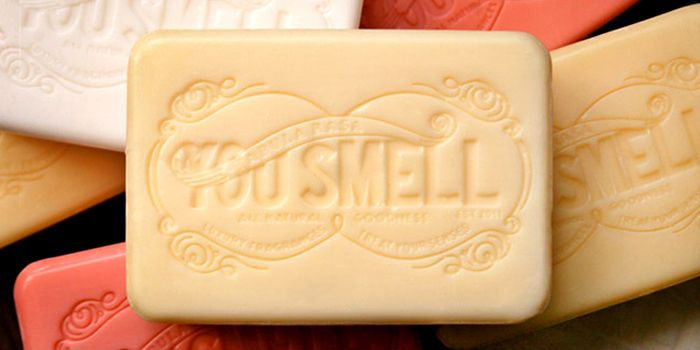 You Smell Soap - The Dieline -