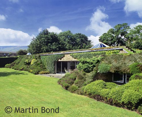 14 best images about earth sheltered buildings on for Modern berm house plans