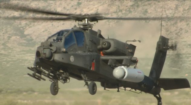 Attack Helicopters with Frickin Laser Beams Under Their Wings: US Army Tests High Energy Laser Weapon on AH-64 Apache - The Firearm BlogThe Firearm Blog