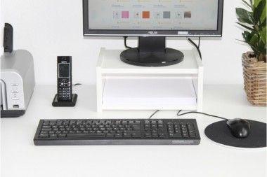Galant Schreibtisch Monitorständer mit DIN A4-Fach