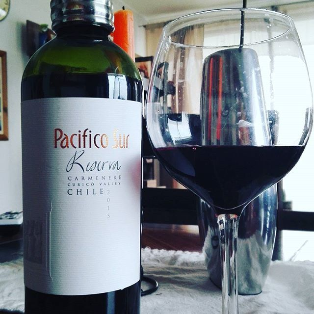 Pacífico Sur Reserva #carmenere Curicó Valley, Chile 2015 #tutunjan