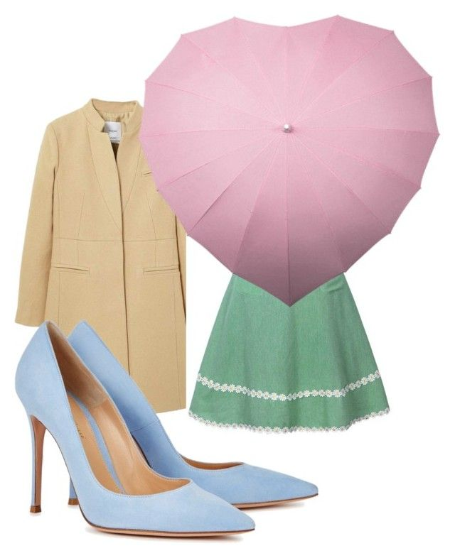 """""""4_"""" by fireflowfor on Polyvore featuring MANGO and Gianvito Rossi"""