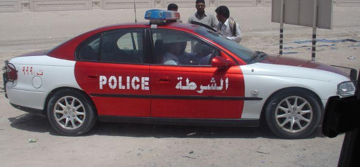 VX Chevrolet Lumina police car (VX Holden Commodore LHD)