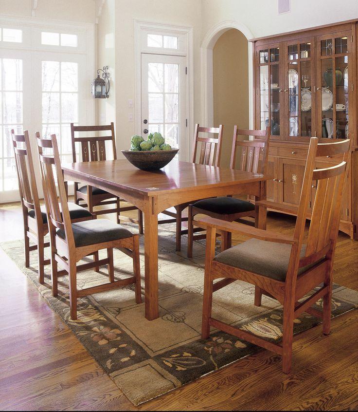 Stickley Dining Room: Stickley Harvey Ellis Table