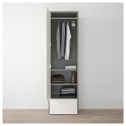 VISTHUS Kleiderschrank grau, weiß IKEA Schweiz Free