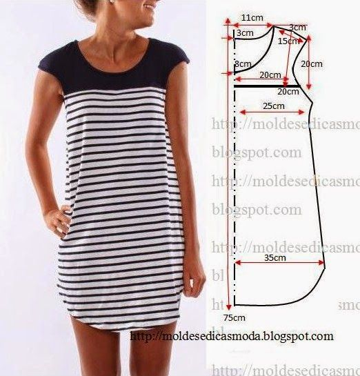 DRESS EASY TO DO - 20 ~ Fashion Templates for Measure
