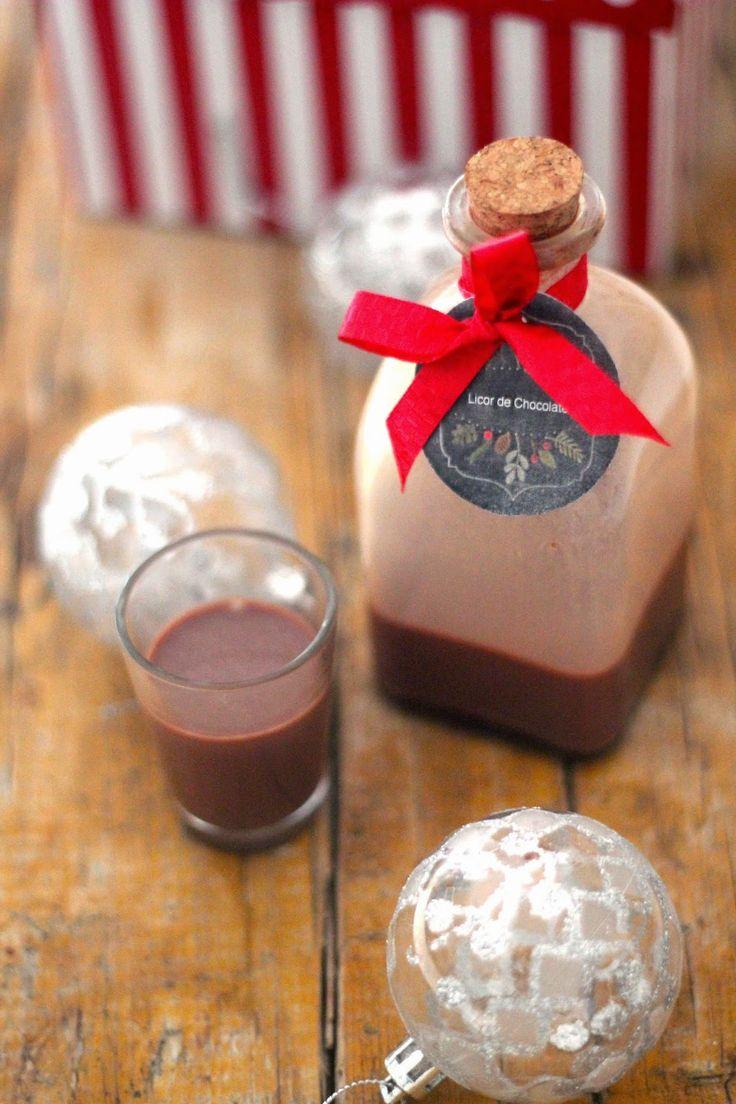 A economia cá de casa: 37 dias para o Natal - Licor de Chocolate para Oferecer                                                                                                                                                                                 Mais