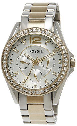 Fossil Women's ES3204 Riley Silver and Gold Tone Watch Fossil http://www.amazon.com/dp/B009BEO9DU/ref=cm_sw_r_pi_dp_oherub0CA8SNF