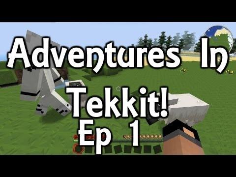 Minecraft Tekkit - Starting From Scratch! [Ep 1] [HD] #minecraft #tekkit #youtube #gaming #commentary #jonofallgames #adventure #sandbox #videogame