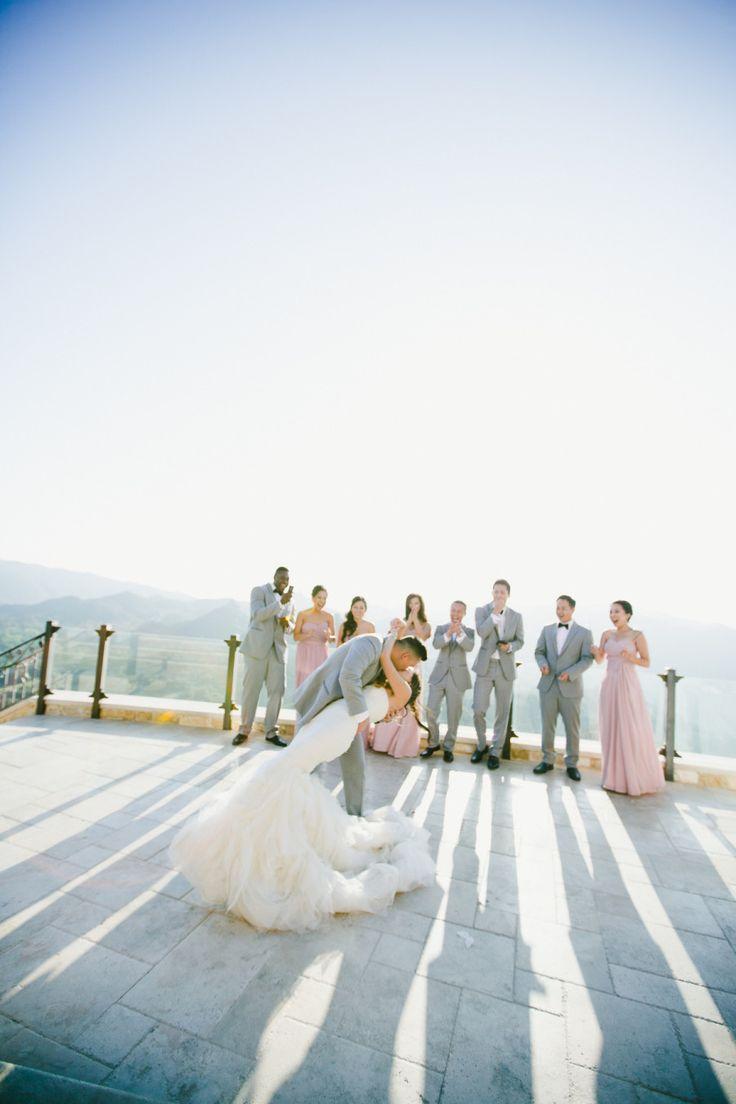 Malibu Mountaintop Vineyard Wedding