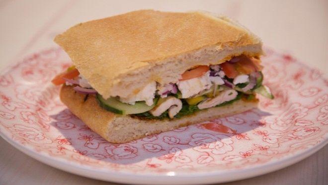 Mega Sandwich - recept | 24Kitchen