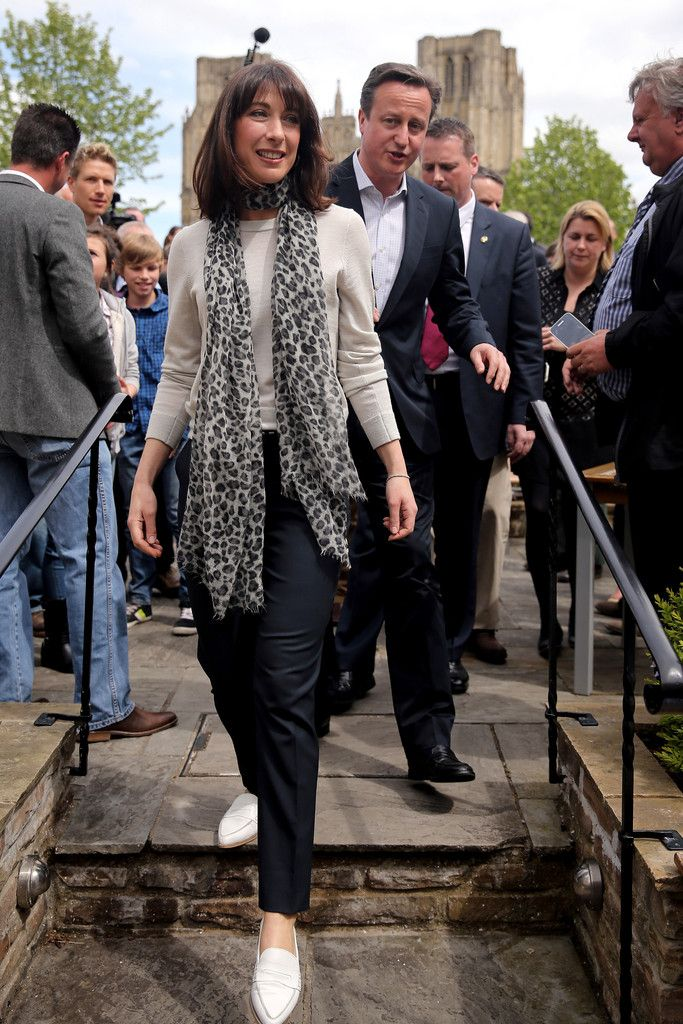 Samantha Cameron Photos - David Cameron Campaigns as Election Day Looms - Zimbio