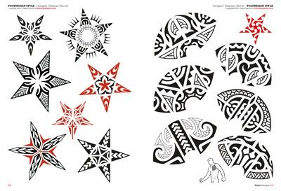 Tribal: Maori & Polynesian - Tattoo Flash Drawings - Tattoo