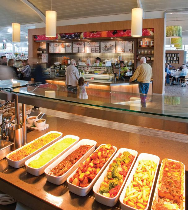 Ifse designed and installed new catering facilities at Squires garden centres in Shepperton and Badshot Lea.