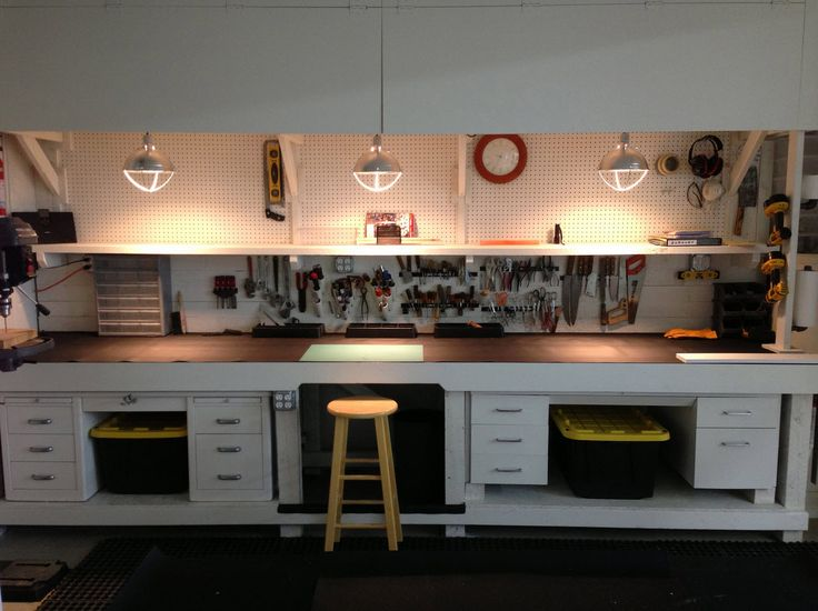 Work bench and cabinet by Chase.