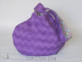 Sewing Pattern and Tutorial: How to make a reversible Japanese knot bag