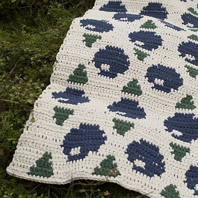 Free Pattern: Bilberry Rug
