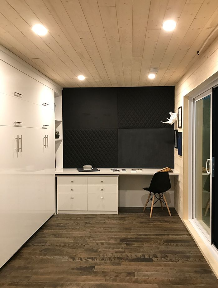 plafond en lambris sapin-épinette huilé blanc