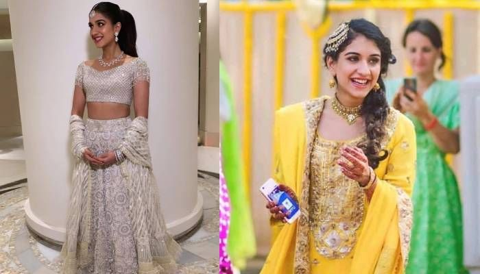 लाजवाब है राधिका मर्चेंट का मिंट ग्रीन कलर का लहंगा, यहां देखिए उनकी शानदार  तस्वीरें | Wedding function, Fashion, Sister wedding