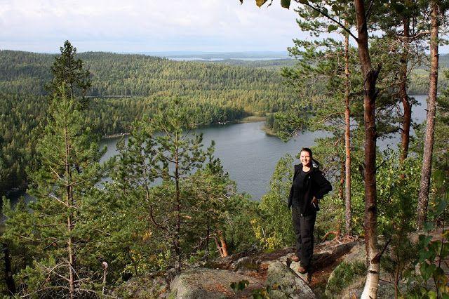 Sysmän Vintturissa kohoava Kammiovuori on yksi Etelä-Suomen korkeimmista kohdista. Vuoren näköalapaikalle johdattaa luontopolku.