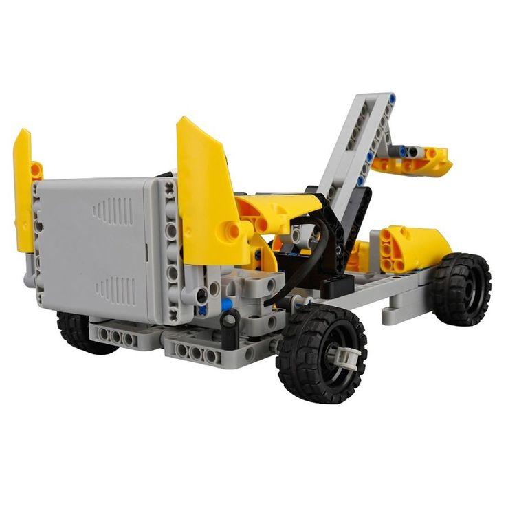 198Pcs Building Block Remote Control Car RC DIY ...