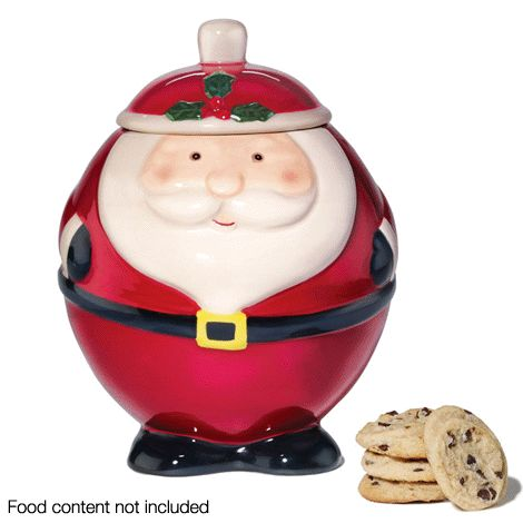 Santa Cookie Jar reg.  $19.99 Product Number  1018484 It's the sweetest time of year! Store your home-baked treats in this adorable jar! www.Facebook.com/shopavonwithdeon