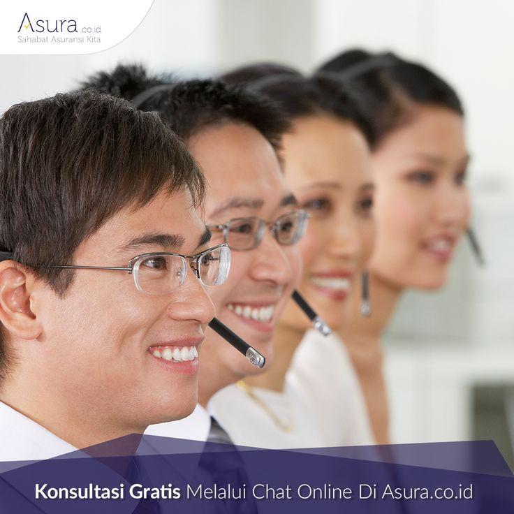Punya pertanyaan seputar asuransi? Sekarang, Anda dapat langsung konsultasi gratis dengan kami setiap hari di Asura.co.id