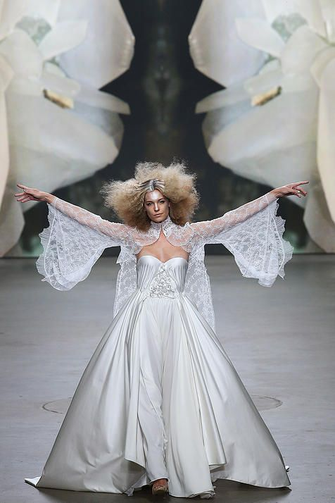 Monique Collignon, Haute Couture Show 2015 Model: Felice Fleur