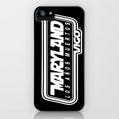 MarylandVigo Maryland - Los Años Muertos iPhone & iPod Case