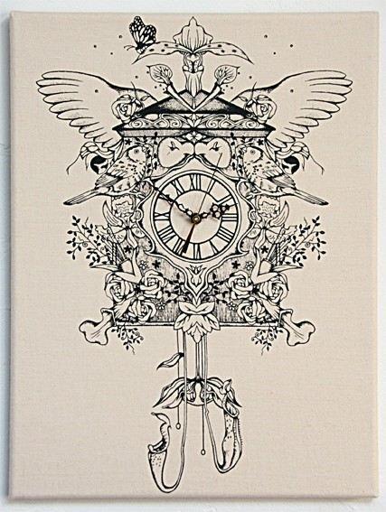 Carnivorous Cuckoo Clock - by SwoonandBlues on madeit